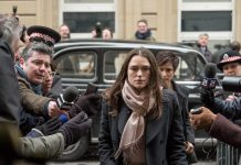 Schausoielerin Keira Knightley im Film Official Secrets