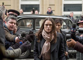 Schausoielerin Keira Knightley im Film Official Secrets