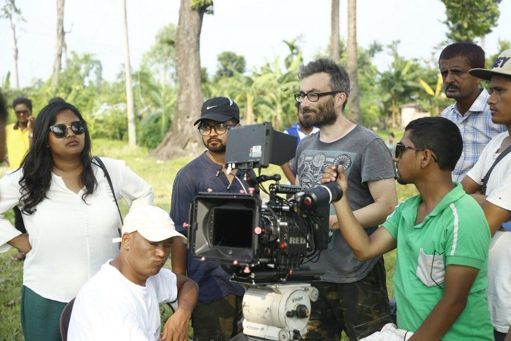 Filmteam beim Dreh