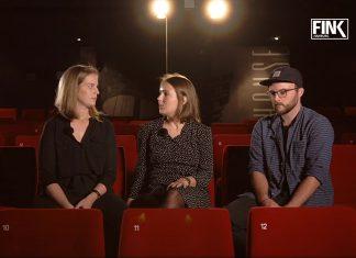 """Lisa, Melli und Ben besprechen im Passage Kino den Jugendfilm """"100 Kilo Sterne"""""""