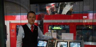 Maik Thorenz is 26 years old and works for the Deutsche Bahn since ten years.
