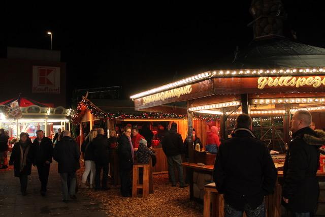 Stand Weihnachtsmarkt Bramfeld
