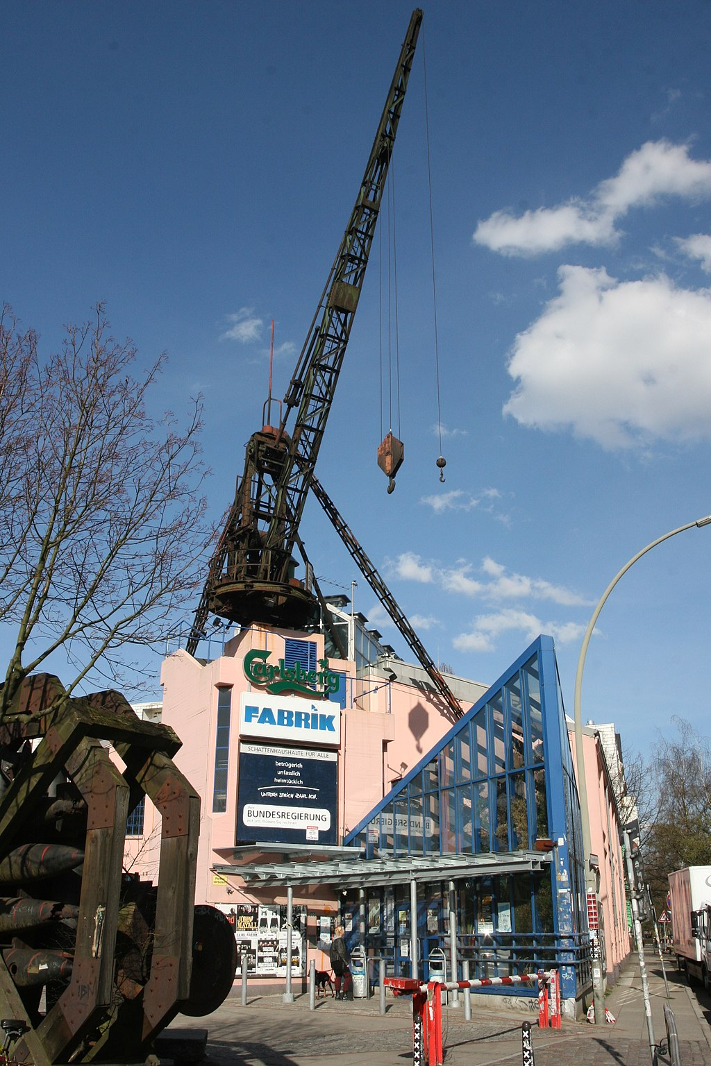 Veranstaltungszentrum Fabrik in Hamburg-Ottensen