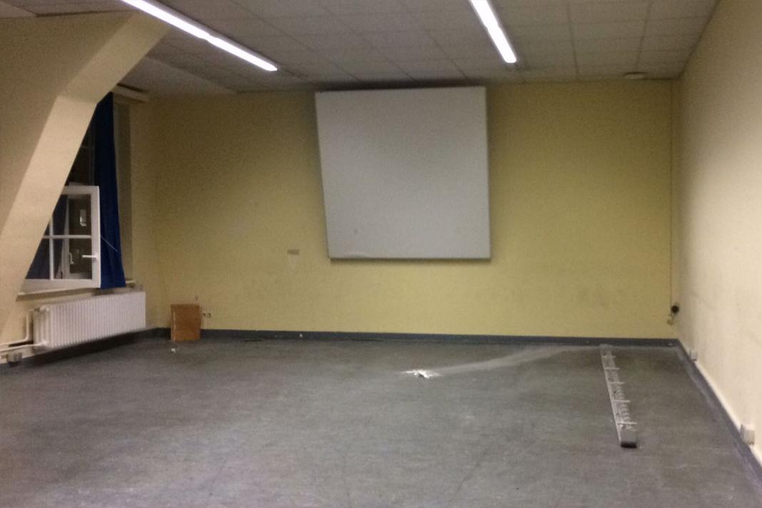 Ein leerer, trister Raum