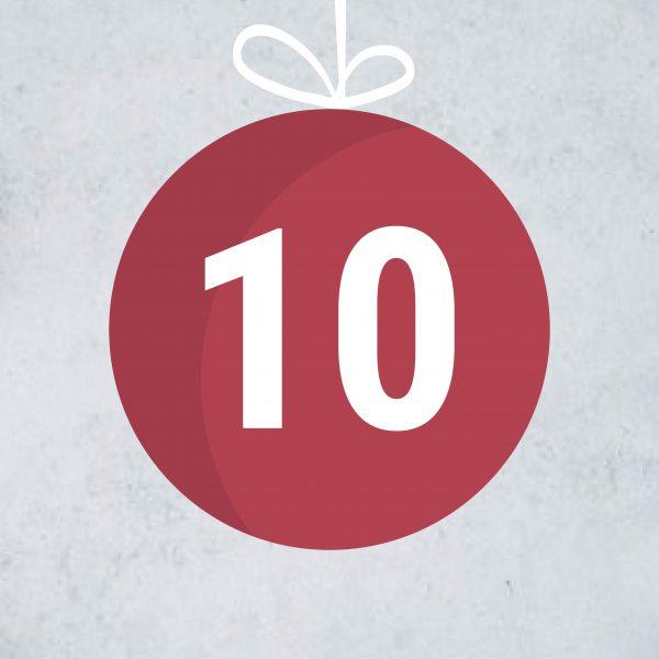 Adventskalendertürchen 10