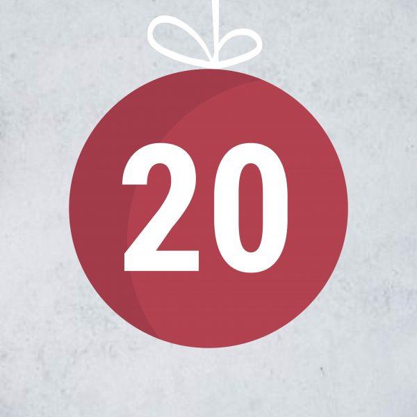 Adventskalendertürchen 20