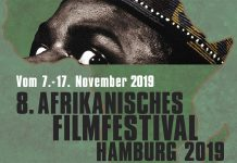 Plakat des 8. Afrikanisches Filmfest Hamburg