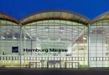 In den Hamburger Messehallen wird das Corona Impfzentrum der Stadt Hamburg errichtet.