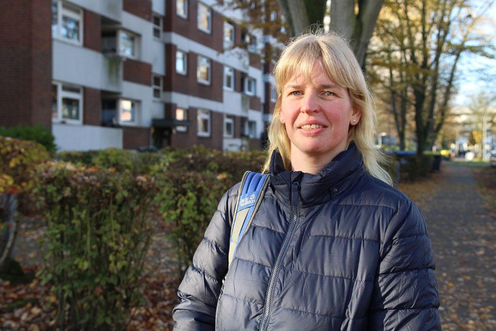 Juliane Hodak wohnt seit 40 Jahren in Mümmelmannsberg.