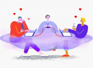 Ghostdating. Illustration: Stephanie Windt