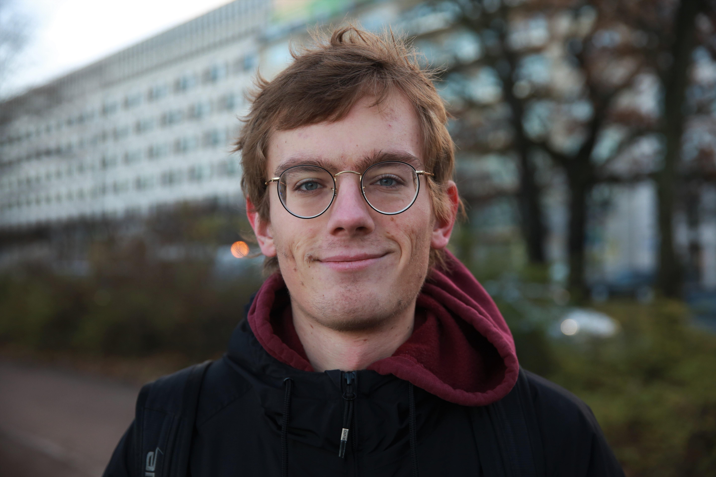 Portrait von Nicos Ohse.