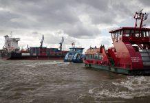 Hadag-Fähren auf der Elbe. Foto: Pixabay