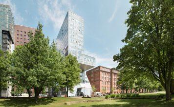 Das Hauptgebäude der Uni Hamburg, einer der sieben staatlichen Hamburger Hochschulen.