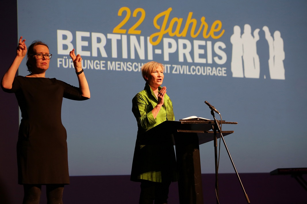 Bertini-Preis Festrede Fehrs
