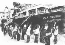 Eine Illustration der Cap Anamur von Jasper Zschörnig.