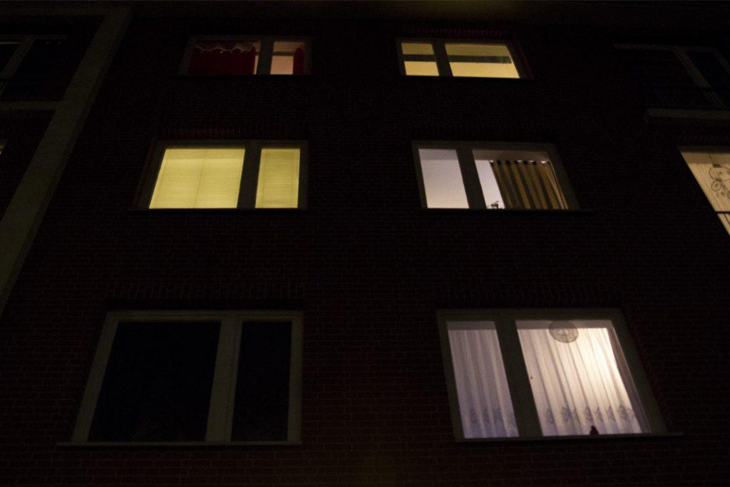 Fenster in der Hasselbrookstraße isu