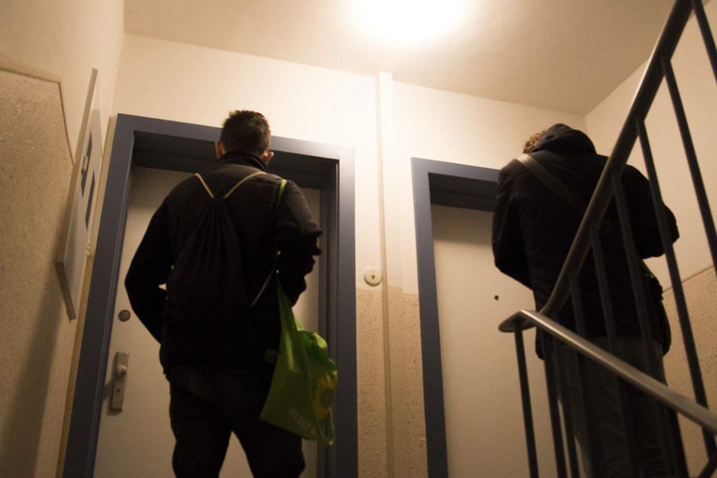 Haustürwahlkampf Grüne Jugend isu