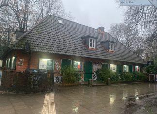 Der Musikclub Grüner Jäger von vorne.