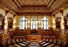 Plenarsaal der Hamburgischen Bürgerschaft. Wer wird hier nach der Bürgerschaftswahl Hamburg am 23. Februar sitzen?