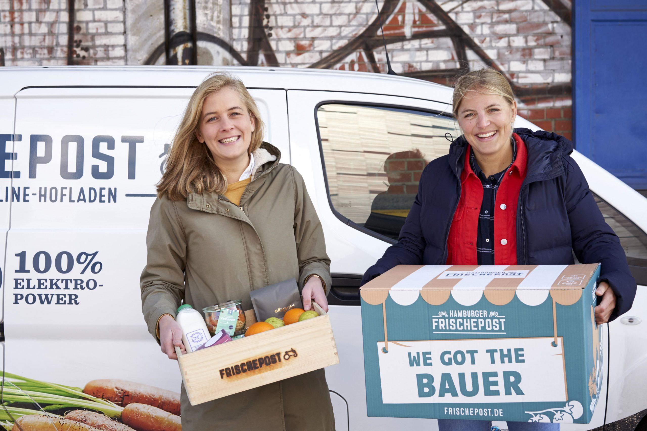 Frischepost liefert als Online-Hofladen direkt vom regionalen Bauern an die Haustür.