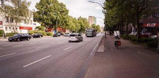 Für Fahrradfahrer ein Albtraum: Die Kieler Straße. Auch hier wird die Verkehrswende benötigt.