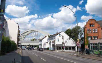 So soll die Sternbrücke in Hamburg-Altona nach dem Umbau aussehen. Foto: Vössing Ingenieurgesellschaft mbH