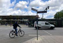 Radfahrer*innen in Hamburg