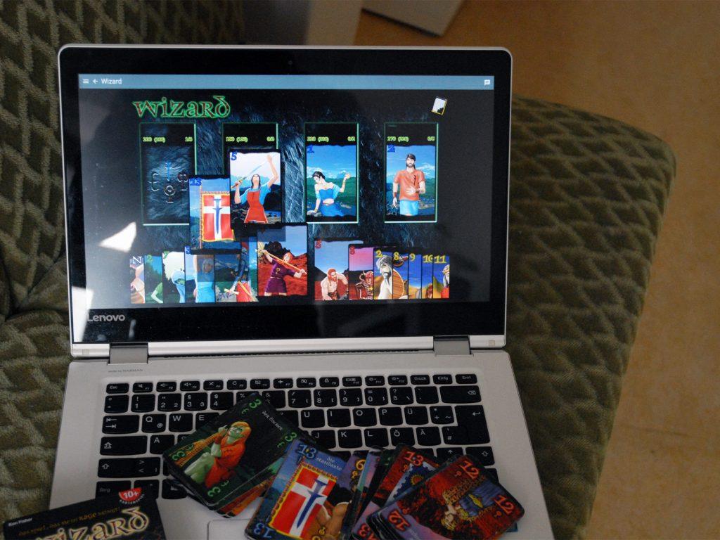 Spiele-Tipps: Das Kartenspiel Wizard ist digital und analog eine Garantie für hitzige Spieleabende. Foto: Patrick Nägele