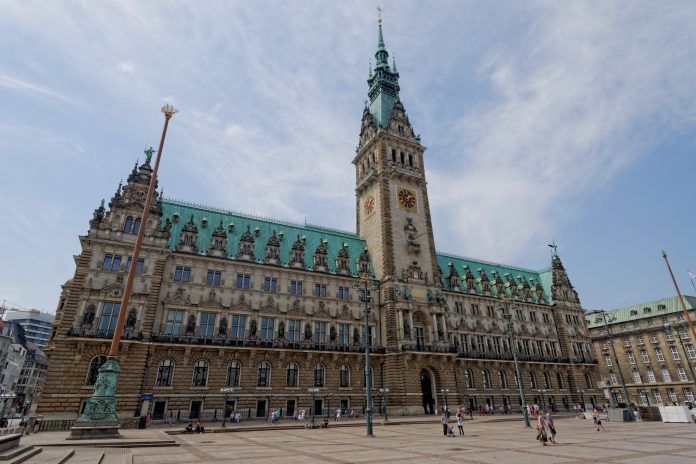 Rathaus Hamburg, Senat