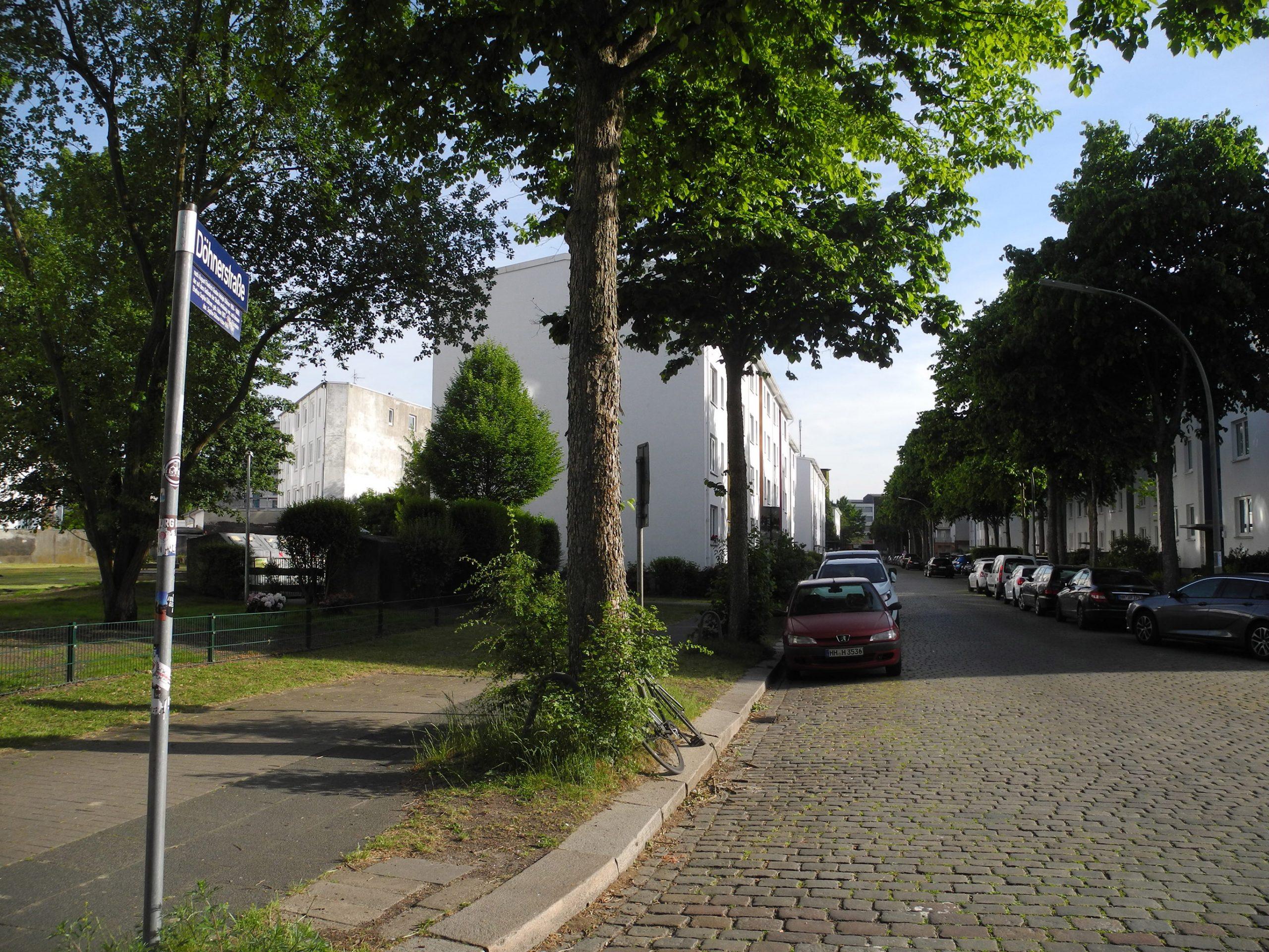 Die Döhnerstraße in Hamm
