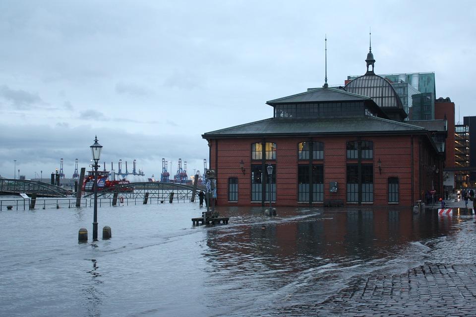 Hochwasser Fischmarkt