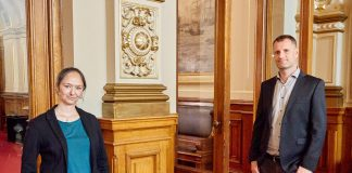 Jennifer Jasberg und Dominik Lorenzen: die neue Doppelspitze der Grünen-Bürgerschaftsfraktion.