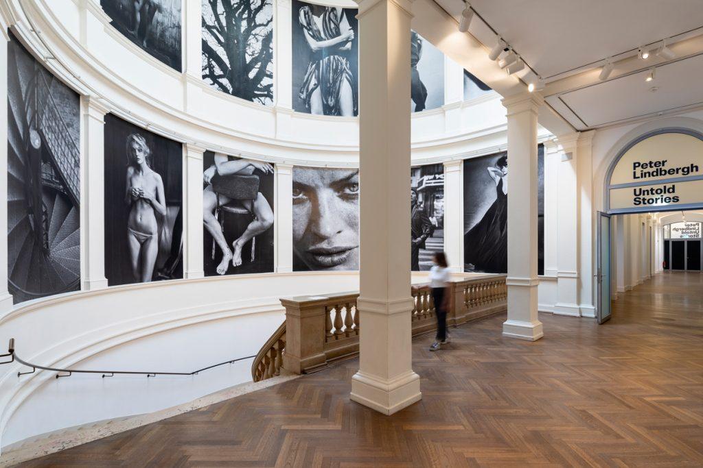"""""""Peter Lindbergh: Untold Stories"""" eröffnet am 20. Juni im Museum für Kunst und Gewerbe. Foto: Henning Rogge"""