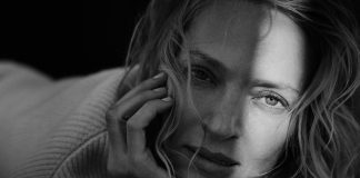 Peter Lindbergh (1944–2019), Uma Thurman, New York, 2016, © Peter Lindbergh (Courtesy Peter Lindbergh, Paris)