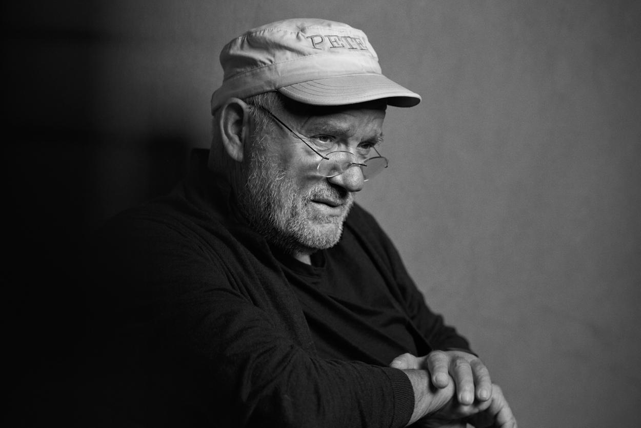 Stefan Rappo (*1971), Porträt Peter Lindbergh, © Stefan Rappo