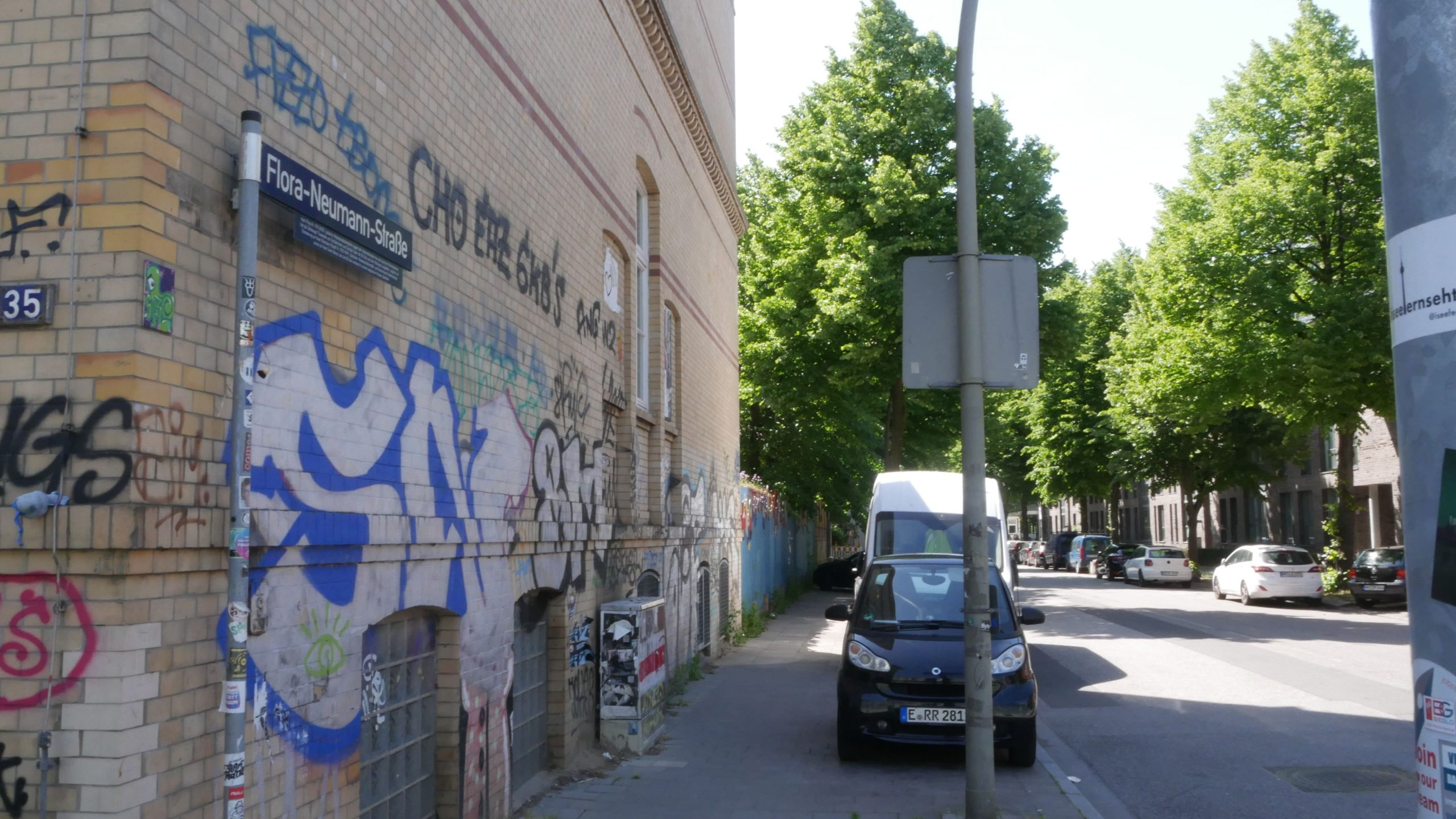 Flora Neumann Straße