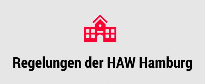 Externer Link zu den Corona Regelungen der HAW Hamburg. Grafik: Pia Röpke