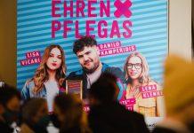 Die Ehrenpflegas Premiere in Berlin