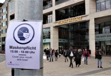 Maskenpflicht Hamburg vor Europapassage