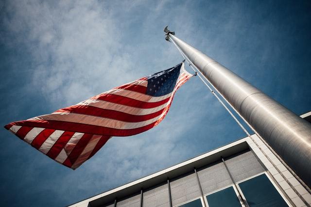 Die US-amerikanische Flagge
