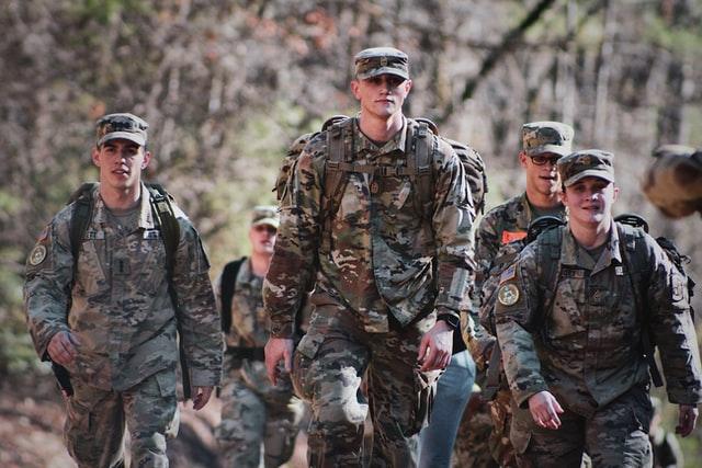 Vier Soldaten der US-Army