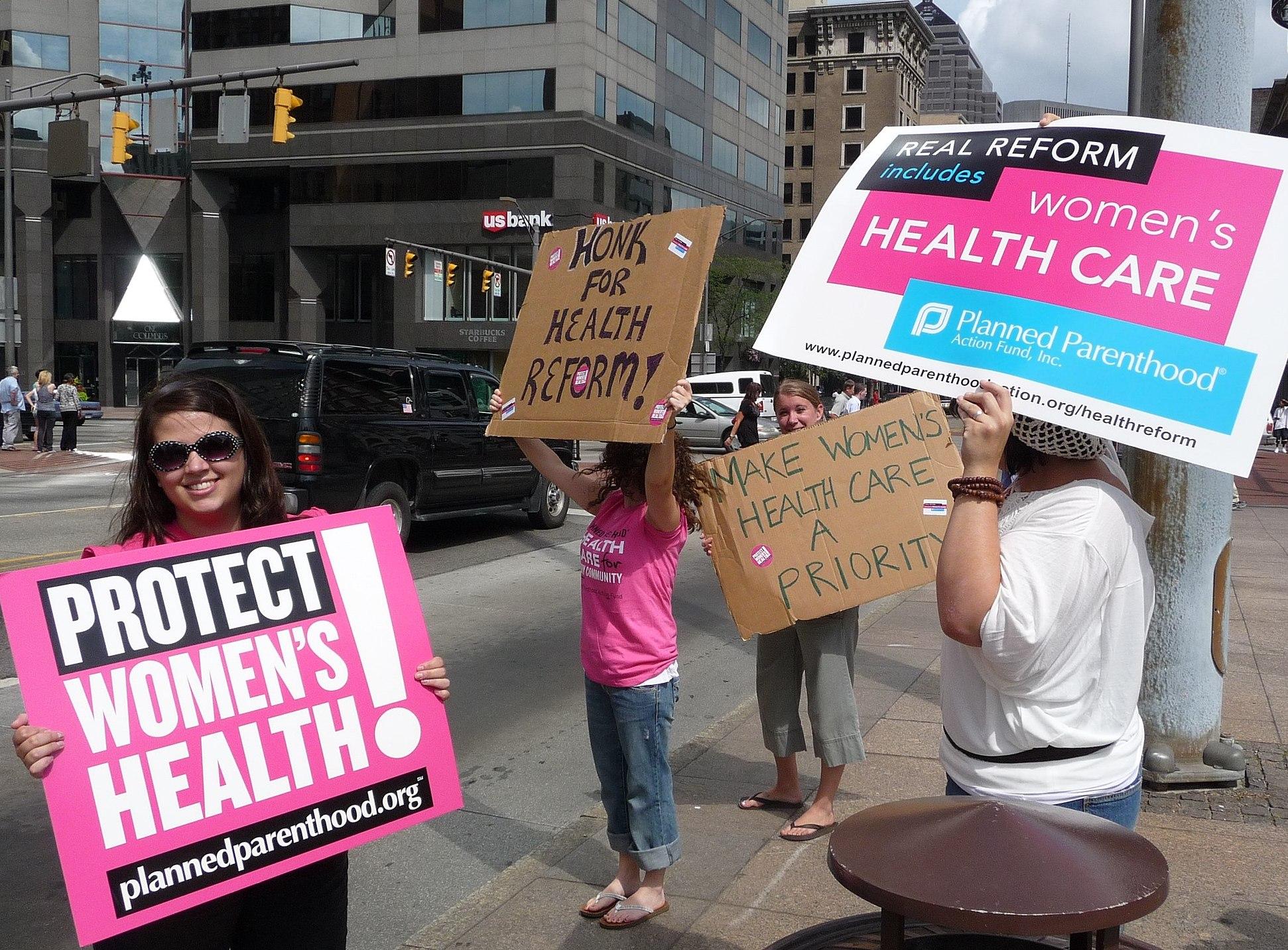 """Die Organisation """"Planned Parenthood"""" ist für vielen Frauen in den USA die einzige bezahlbare Möglichkeit einer gesundheitlichen Versorgung. Bild: Unsplash"""