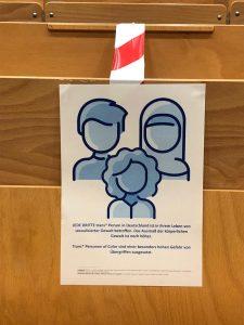 Wochen gegen geschlechtsbasierte Gewalt, HAW-Hörsaal Berliner Tor, Foto: Lynn Mecheril