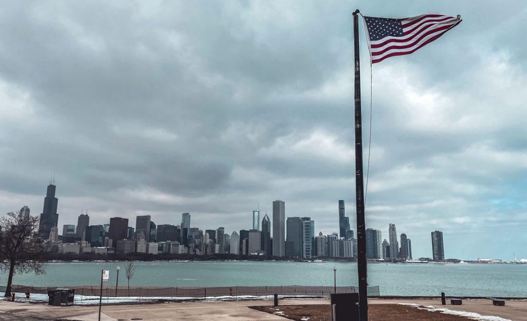 Eindrücke von Hamburgs Partnerstadt Chicago im Februar 2020. Foto: Chiara Schenk