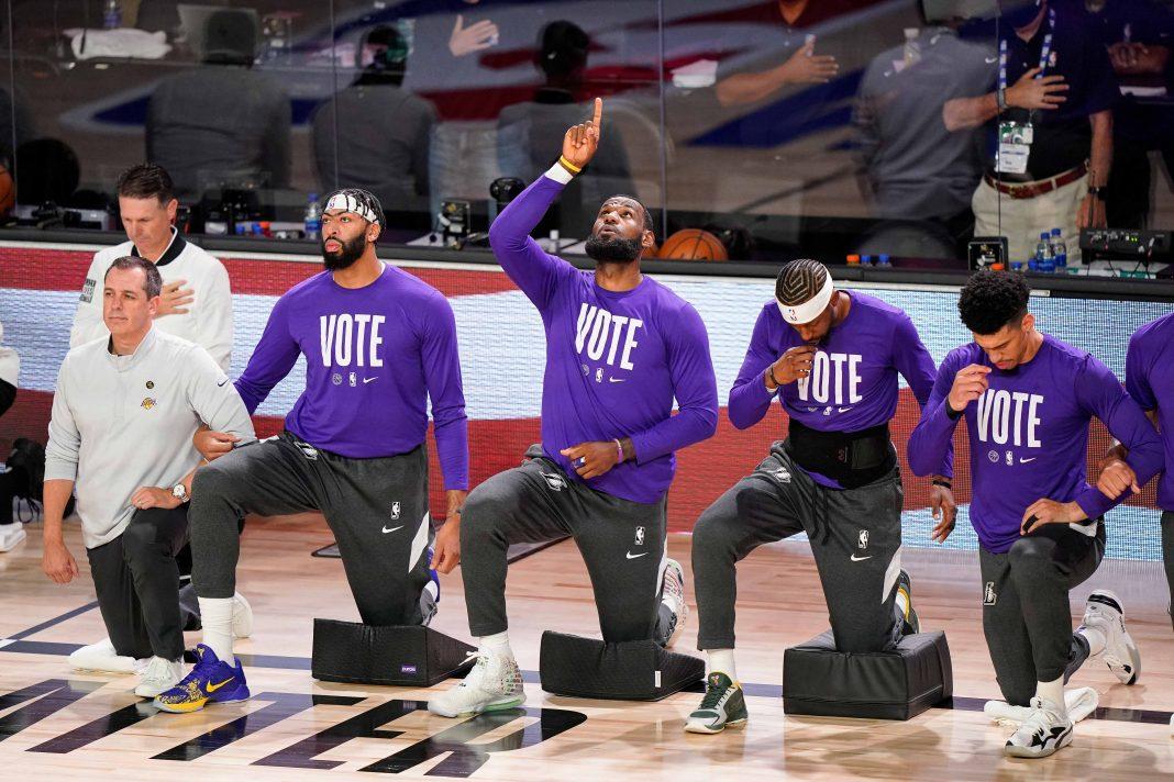 Der US-Sport wurde in der Wahl 2020 zwischen Republikanern und Demokraten zur Bühne politischer Diskussionen.