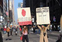Frauenrechte Teaser Demonstration USA