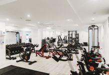 Eines von vielen leeren Fitnessstudios während der Corona-Pandemie