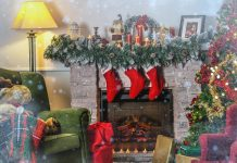 Weihnachtliche Atmosphäre für Adventsgeschichte