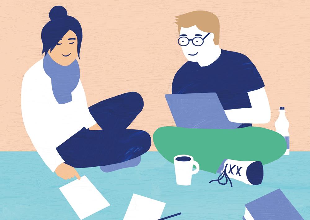 Online-Plattform learn2gether soll Studierende der HAW vernetzen.