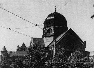 Wiederaufbau: So sah die Hauptsynagoge am Bornplatz früher aus.